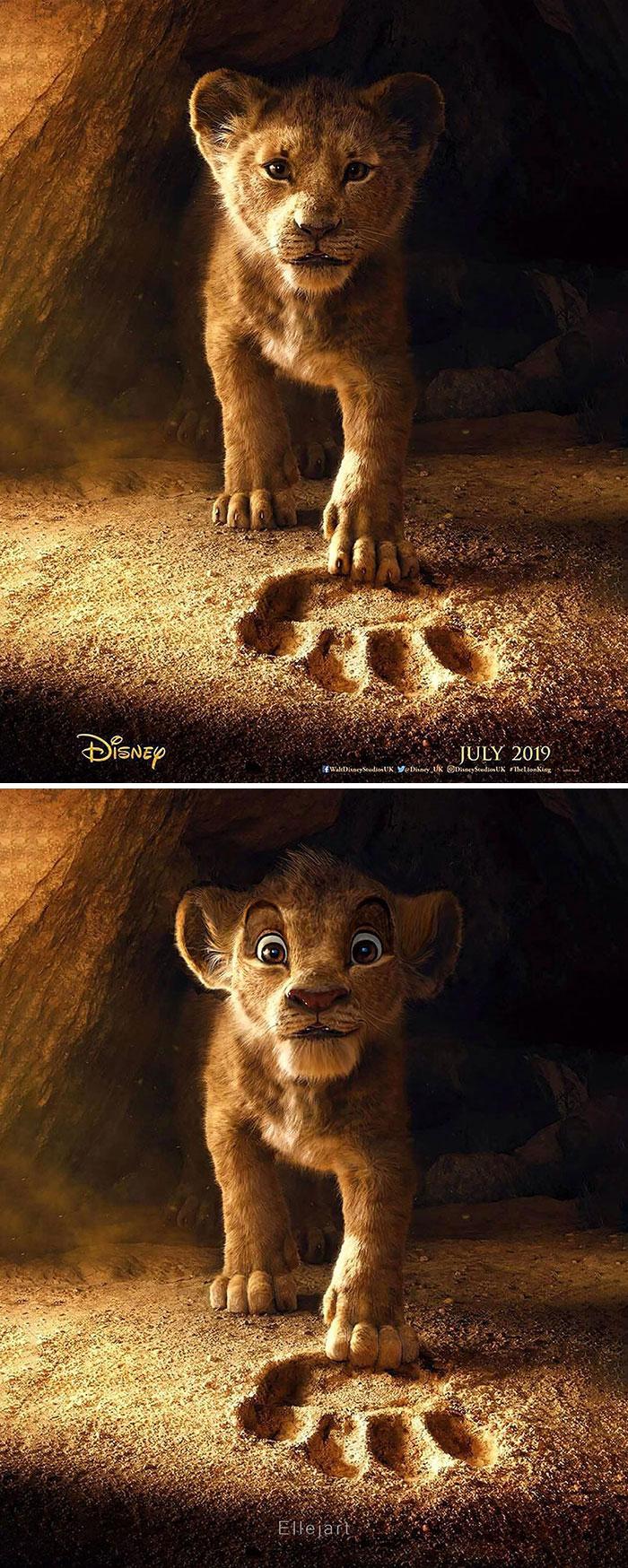 Lion King Promo Poster