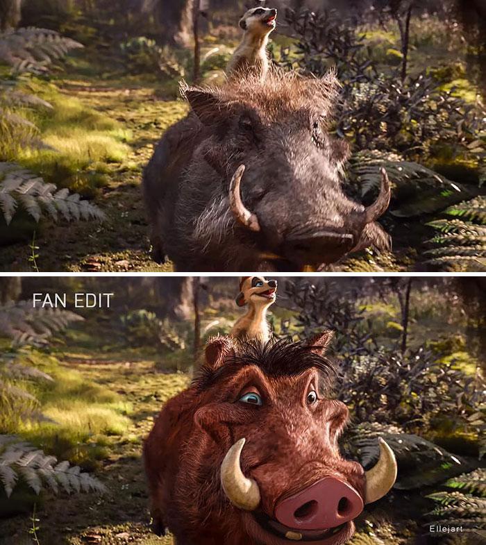 Pumbaa And Timon