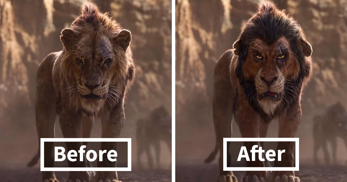 Artists Give The Lion King S Characters An Alternative Look And It Goes Viral 13 Pics Bored Panda