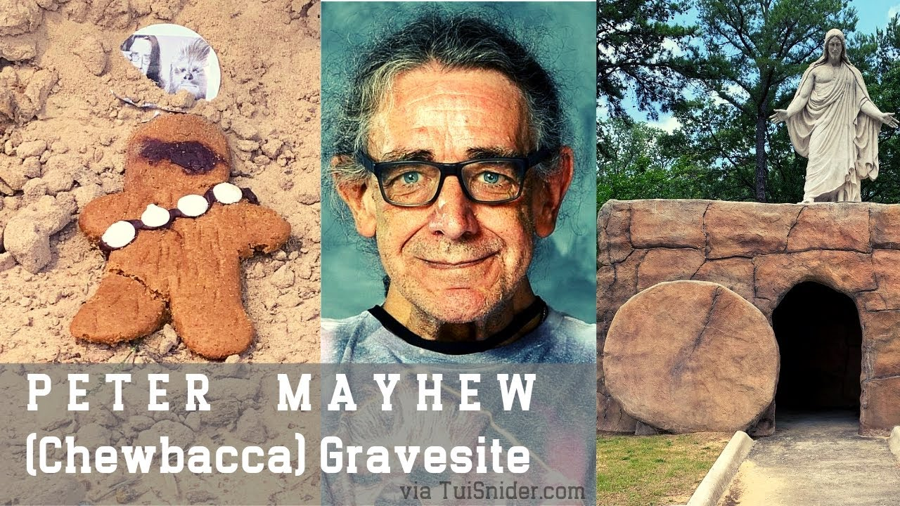 I'm Surprised By The Humble Grave For Chewbacca Actor Peter Mayhew