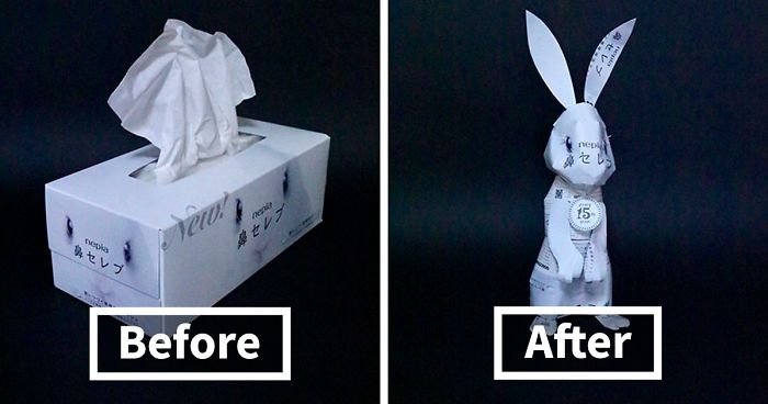 Japanese Artist Turns Product Packaging Into Art, And The Results Are Amazing (19 New Pics)