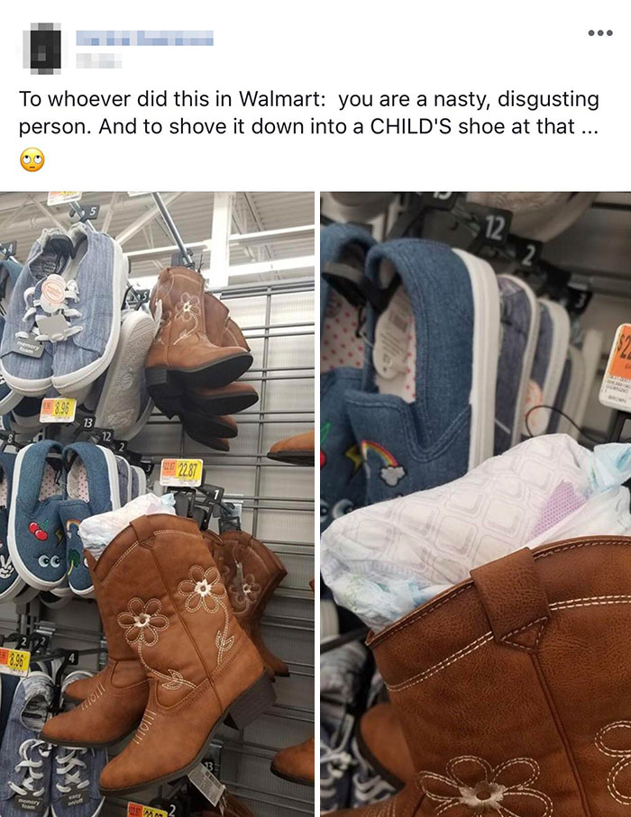 Putting A Used Diaper In A Child's Shoe Is The Hot New Thing In My Parents' Hometown