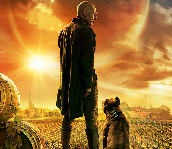 New 'Star Trek: Picard' Poster Features Sir Patrick Stewart And His Companion Dog
