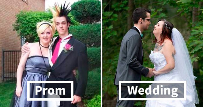 30 Times People Married Their Prom Dates And Shared The Before And After Pics