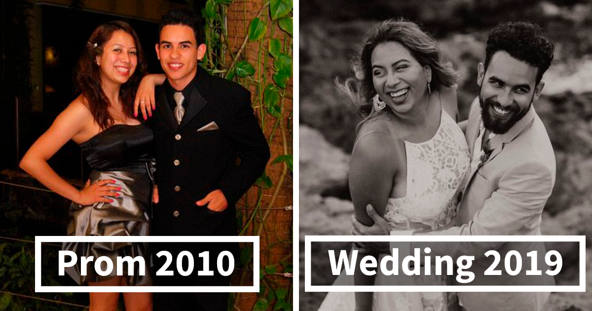 Prom vs. Wedding: 64 Couples Who Got Together And Stayed Together