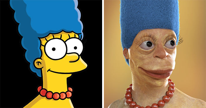 Artist Shows How Cartoon Characters Would Look In Real Life, And It Might Ruin Your Childhood (New Pics)