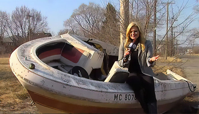 This Badass Journalist Is Solving Detroit's Abandoned Boats Problem By Bringing Them Back To the Owners In A Captain's Hat