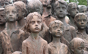 It Took Over 20 Years To Make This Monument For 82 Children Murdered By The Nazis In The Czech Republic