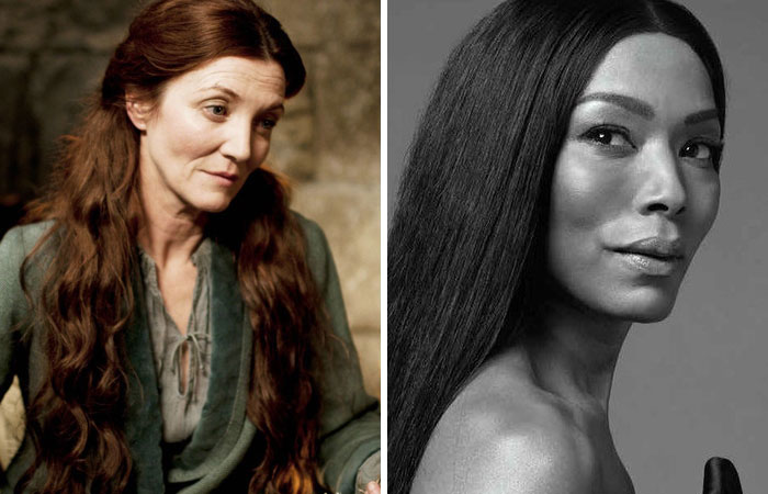 Angela Bassett As Catelyn Stark