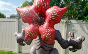 It Only Takes $100 To Turn Your Yard Into A Parallel Dimension With This 6-Foot-Tall Demogorgon Sprinkler