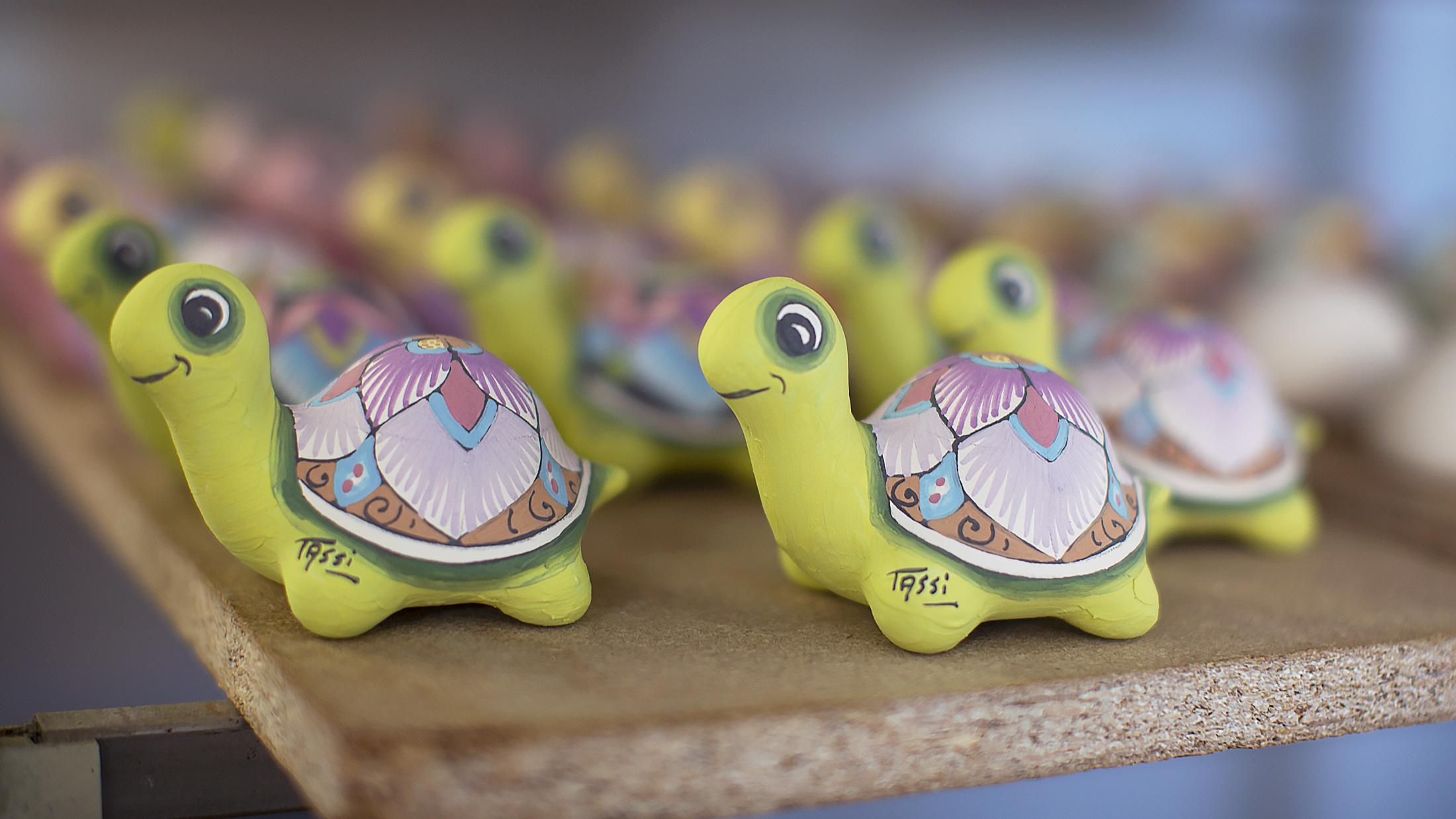 I Handmade A Cute Ceramic Turtle