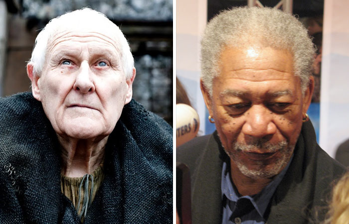 Morgan Freeman As Aemon Targaryen