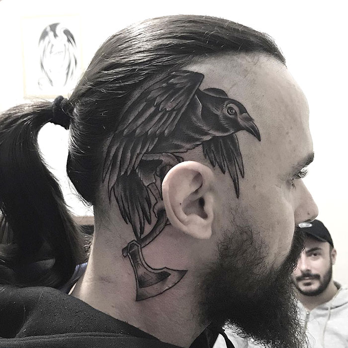 Today I Had The Opportunity To Tattoo Ragnar