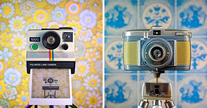 27 New Vintage Camera Photos From My CameraSelfies Photo Project