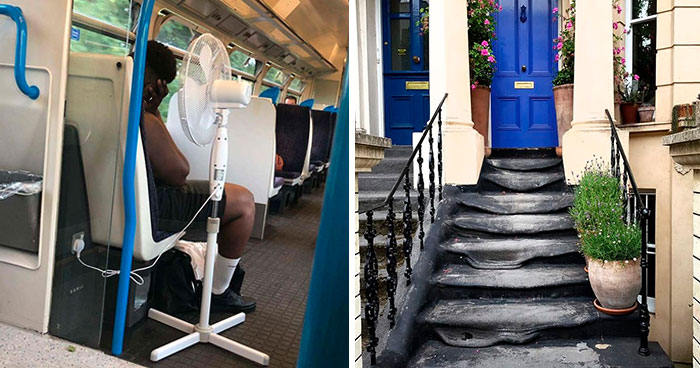 Here's How People In Great Britain Are Reacting To The Record-Breaking Heatwave (32 Pics)