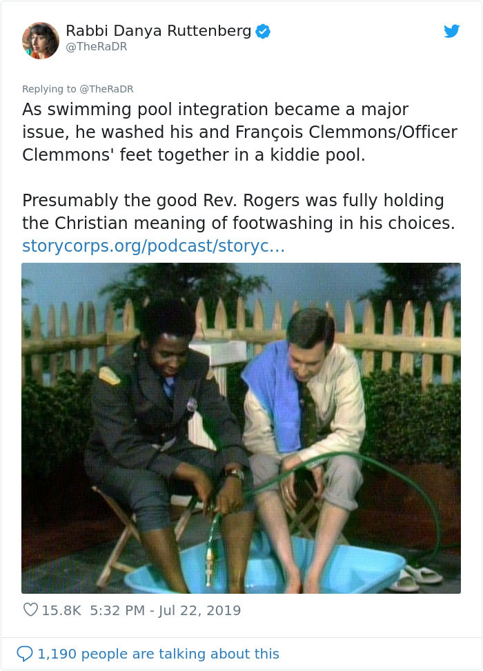 Rabbi Reminds The World About Mr Rogers Radical Theology In Viral Twitter Thread Bored Panda