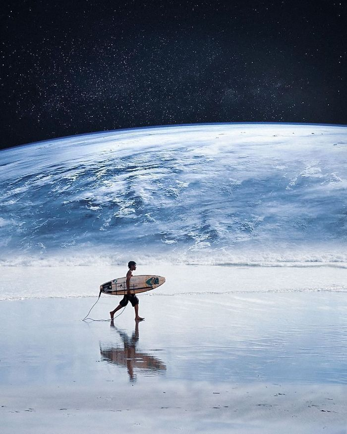 Earth Surfing