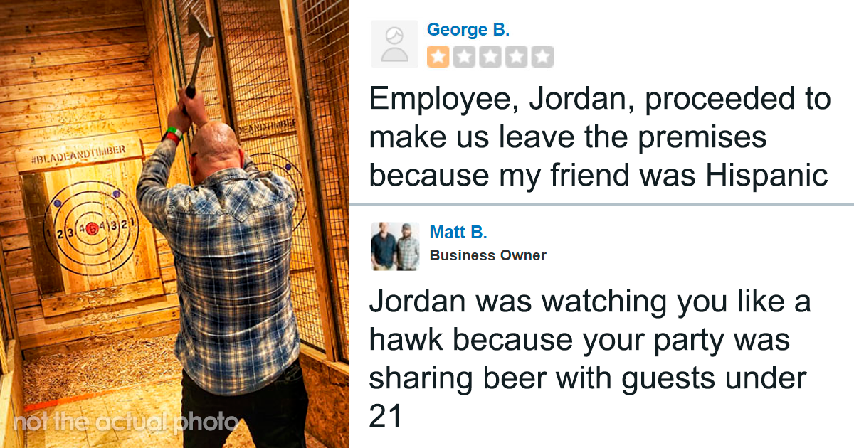 Customer Accuses Waiter Of Terrible Service And Racism, Gets Brutally Exposed By The Owner