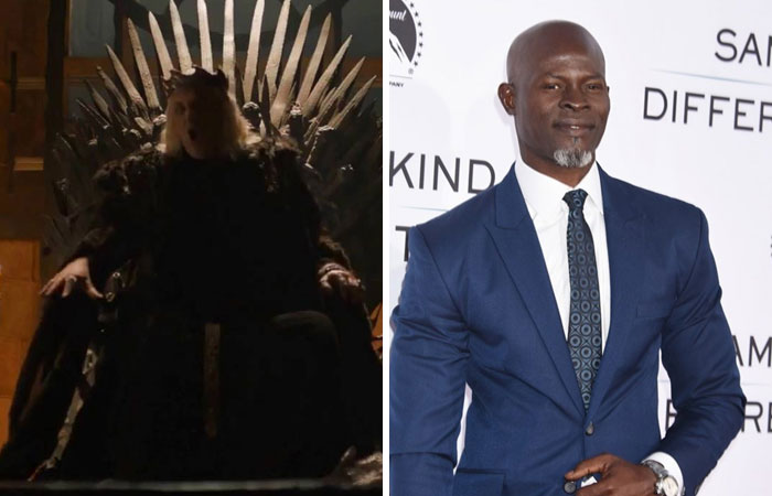 Djimon Hounsou As The Mad King Aerys