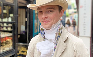 This 25-Year-Old From The UK Has Been Wearing Only Historical Clothing Since He Was 14