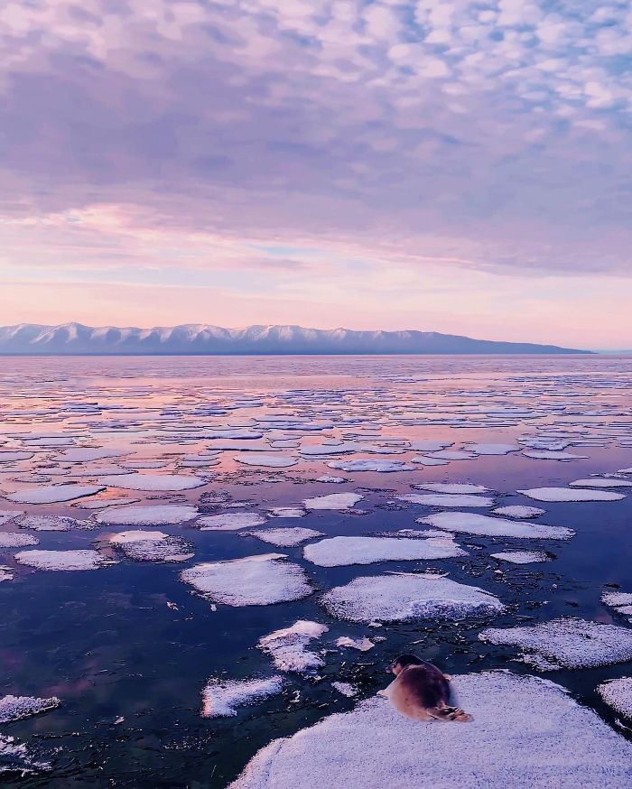 I Traveled By Ship On Lake Baikal In The Spring, And It Was Amazing
