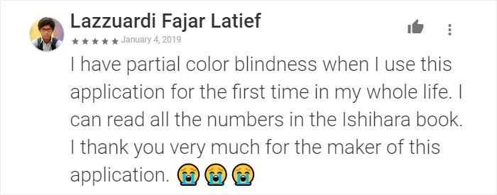 This Color-Blind Man Created An App That Lets People Understand And Cope With Color Blindness