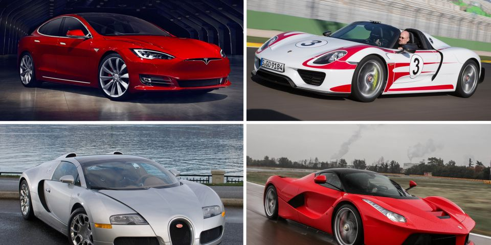 10 fastest production cars from zero to 60 mph