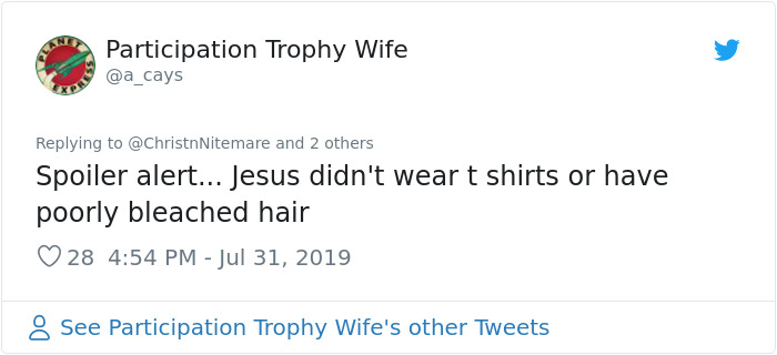 26 Responses People Had To This Anti-Vaxxer Proudly Wearing A 'Jesus Wasn't Vaccinated' T-Shirt