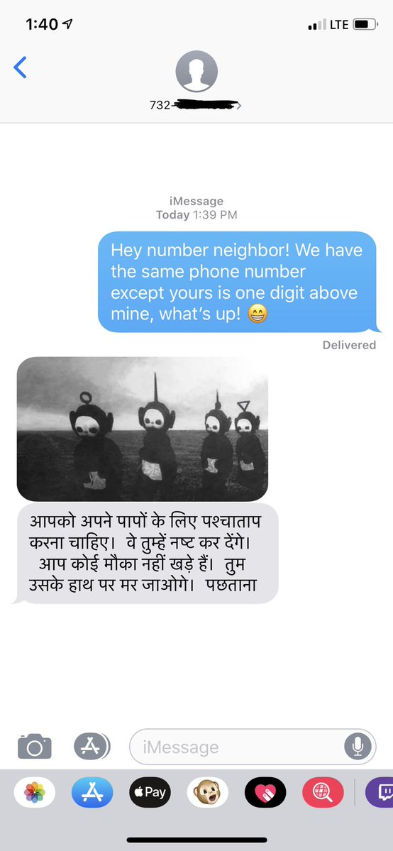 Never Doing This Number Neighbor [crap] Again