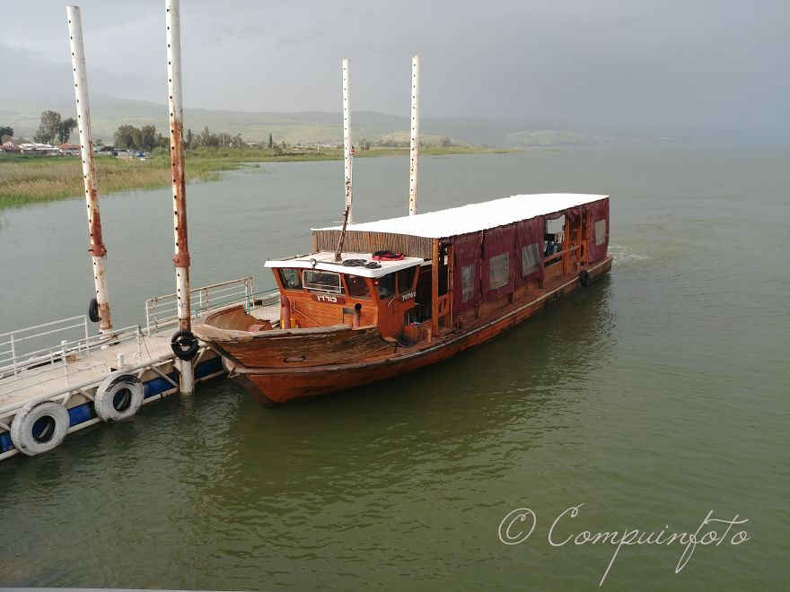 Boat As Used 2000 Years Ago On Lake Tiberias