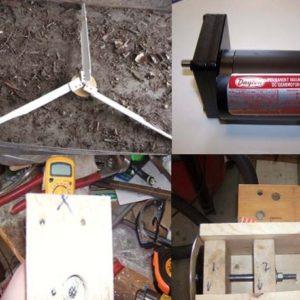 Genius DIY Wind Turbine Designs
