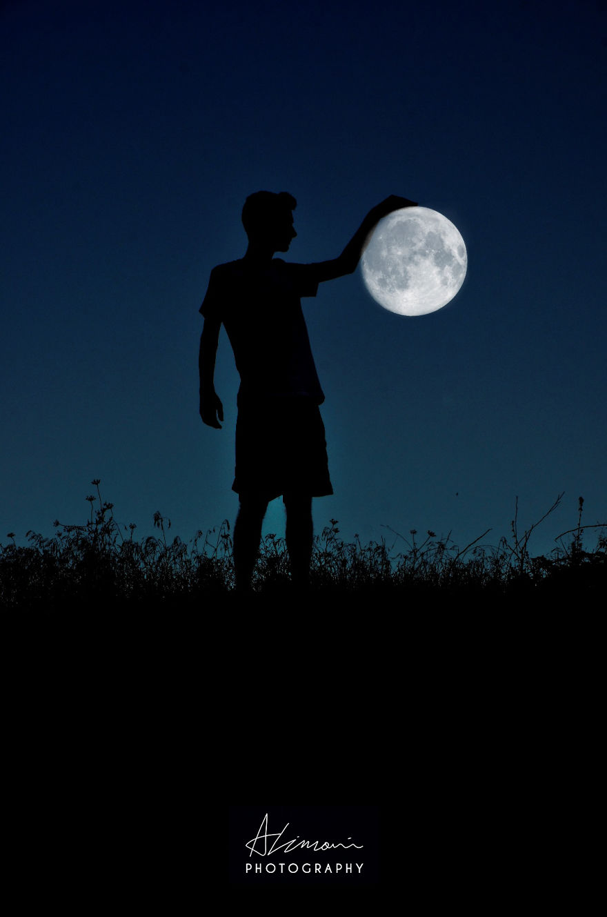 Moon Silhouettes By Adrian Limani