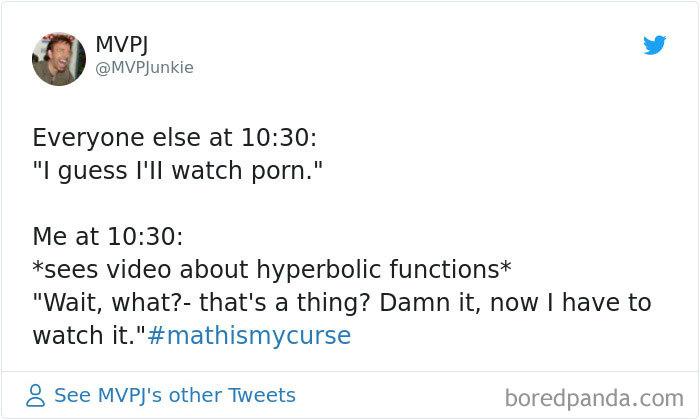 Math Is His Porn