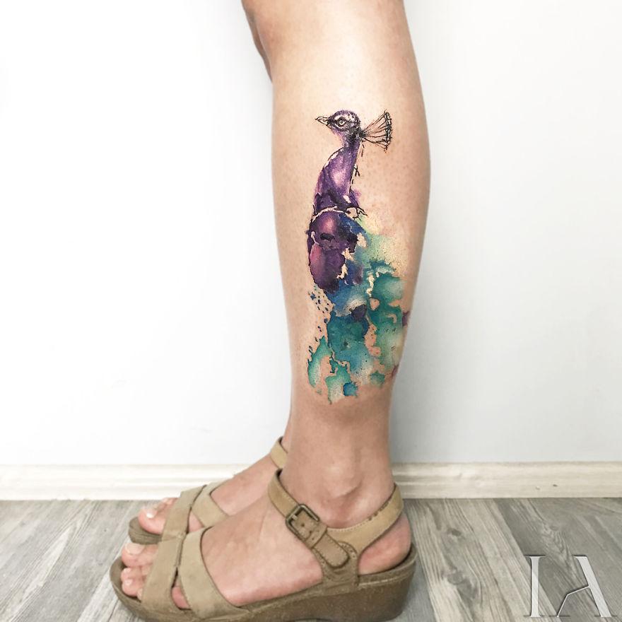 Animal Tattoos By Turkish Tattoo Artist