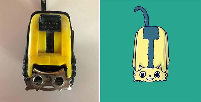 Stanley The Measuring Tape Feline