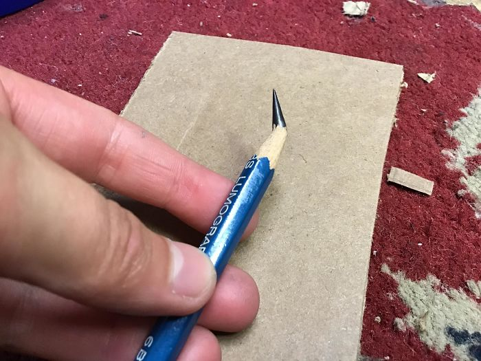 I Knew There Was Something Fishy When My Pencil Sharpened Perfectly