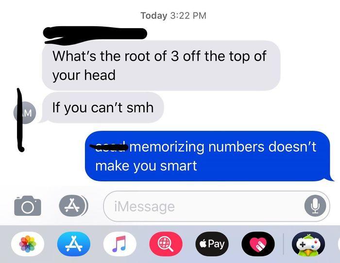 My Friend Testing His Intelligence
