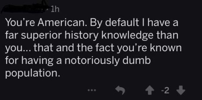 Better Than Americans