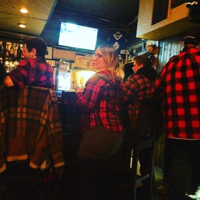 Fashion At My Small Town Canadian Bar