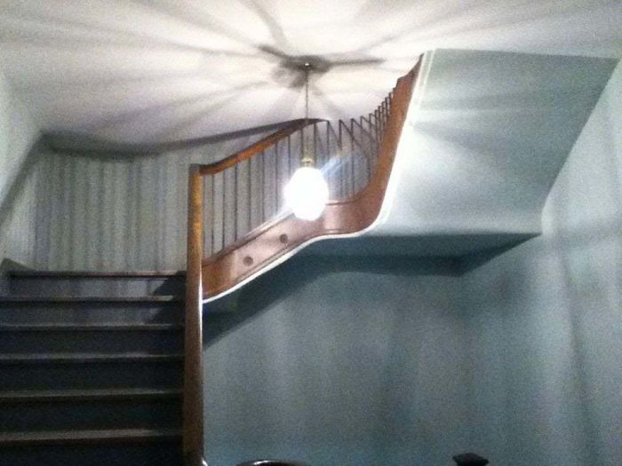 These Stairs In A Residence Hall When I Was In College. Always Creeped Me Out