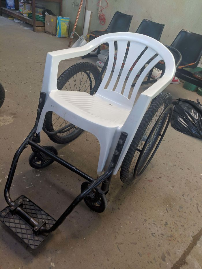 Hospital Which I Work Has These Wheelchairs For The Patients