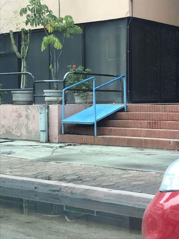 This Handicap Ramp