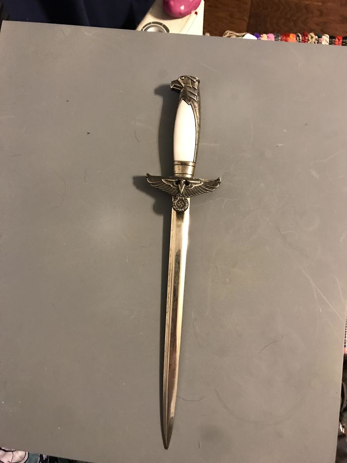 Does Anyone Have Any Info On This Nazi Dagger I Received From My Grandfather?