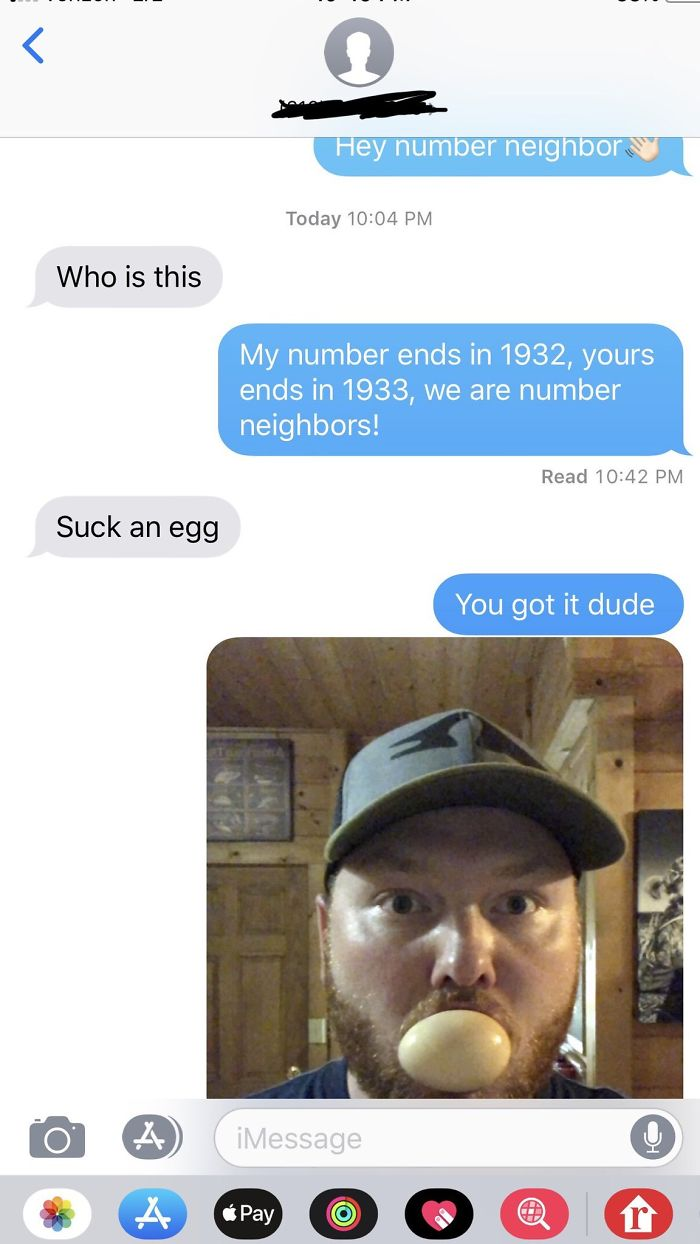 Odd Request By My Number Neighbor