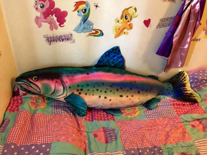 My Four Year Old Daughter Absolutely Could Not Live Without This Four Foot Rainbow Trout!