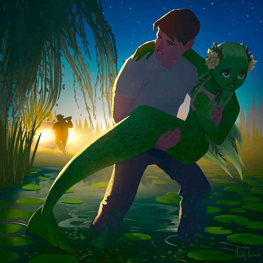 mermaid Fairytale like love stories