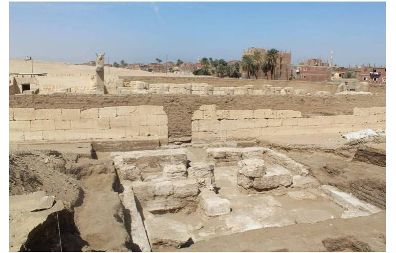 ARCHAEOLOGISTS DISCOVER HIDDEN PALACE MARKED WITH SYMBOLS OF RAMESSES THE GREAT