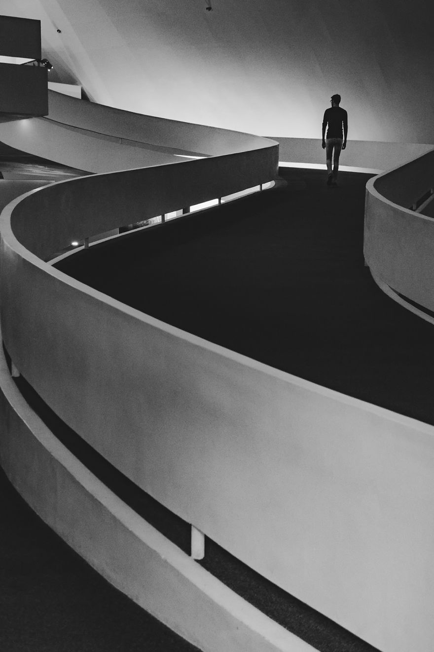 Brazilian Photographer Captures Man's Interaction With Architecture