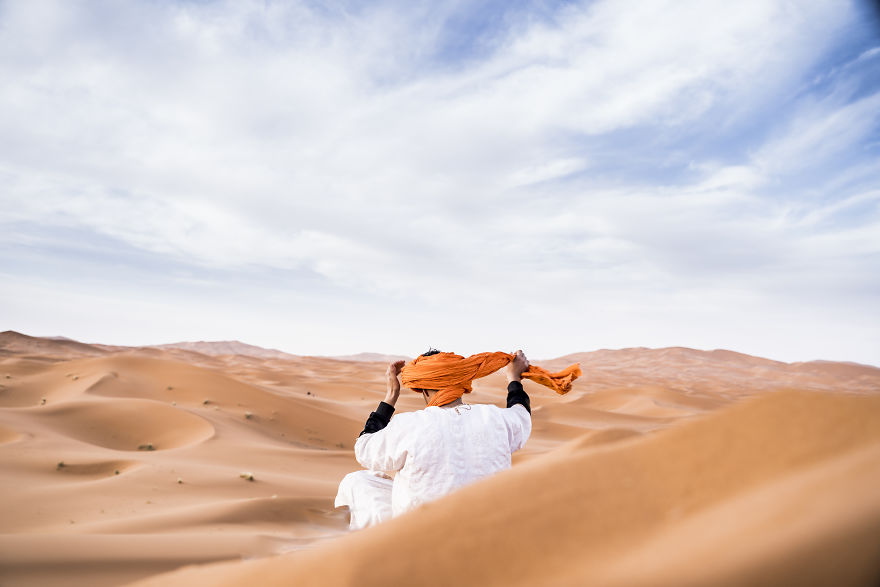 Berber In The Desert