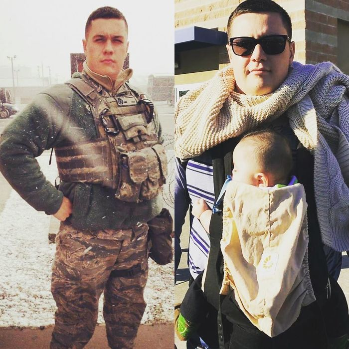From Fatigues To Fatigued. Either Way, I Wouldn't Mess With Him